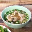 Sliced Pork Noodle Soup - PhởHeo [$8.50]