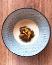Roasted Chestnut 'Orh Nee', Candied Orange, Fresh Soy Milk [$14 for Ala Carte]