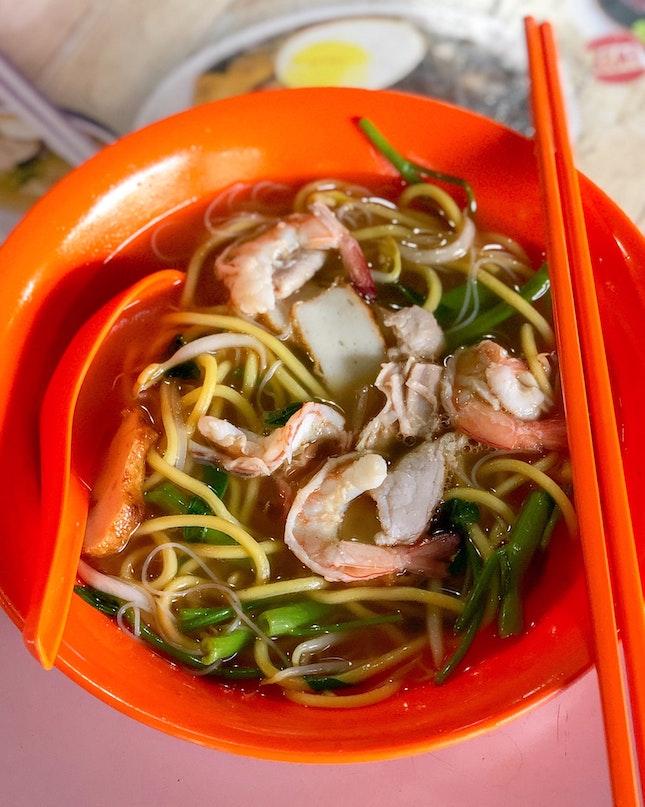 Prawn Noodle Soup [$4]