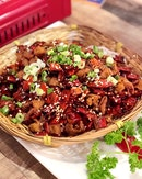 Spicy Chicken Cubes 重庆辣子鸡 [$16]