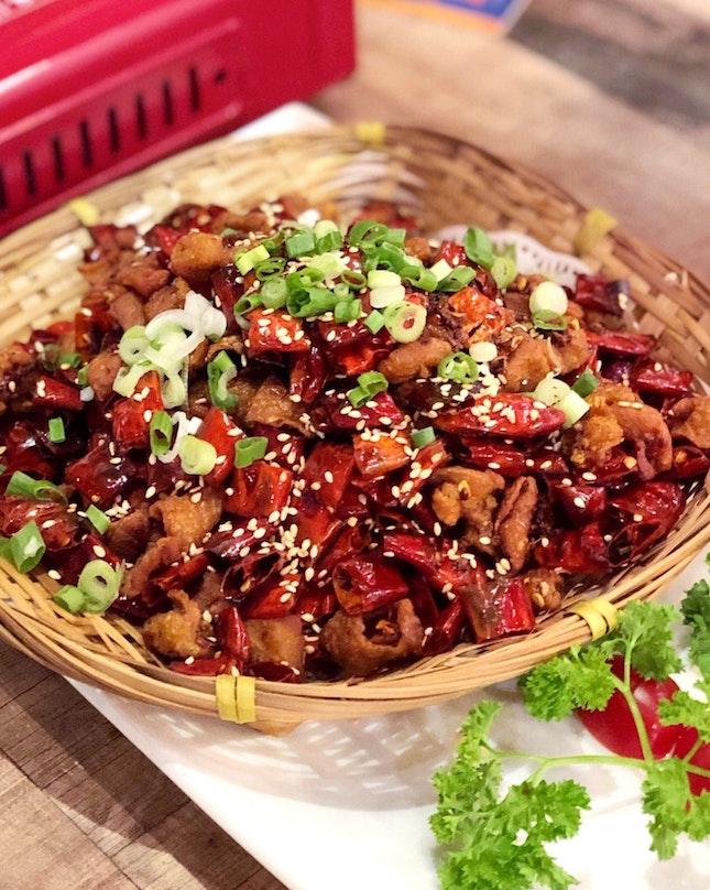 Spicy Chicken Cubes 重庆辣子鸡 [$16]