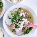 Batang Sliced Fish Soup + Minced Meat + Fish Eggs [$6 + $0.50 + $1.50]
