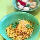 Mixed Fishball Noodles 么錦鱼圆面干 [$3]