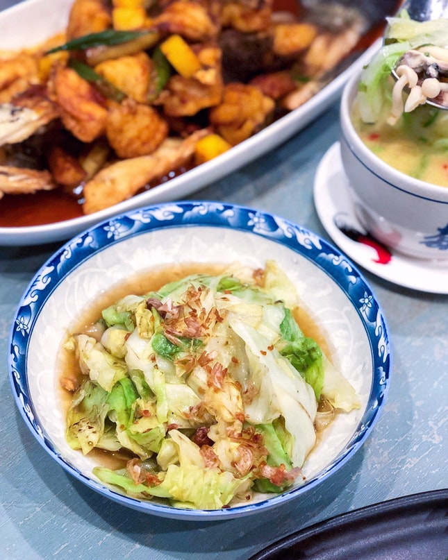 Ugly Cabbage in Fish Sauce 招牌丑高丽菜 [$9.80]