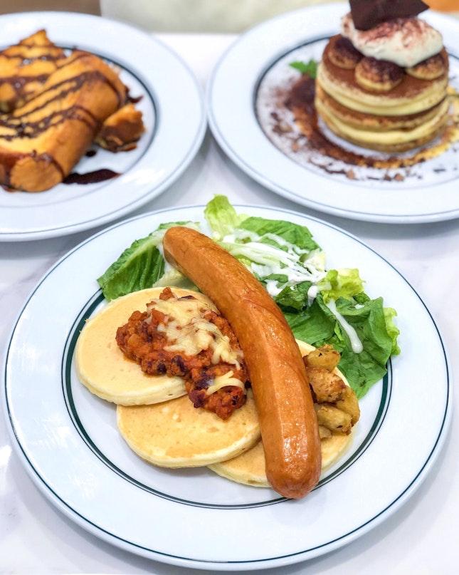 Chilli Bean Pancakes [$18.90]