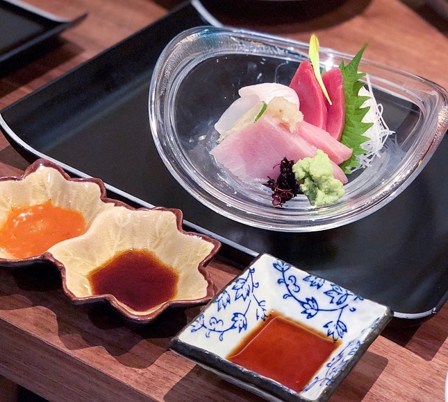 Assorted Sashimi [$38 - $98]