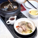 汽锅鸡 Steam Pot Chicken Soup [$29.80 on CNY Ala Carte Menu]