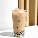 Milk Tea w Pearls [$3.20 + $0.70]