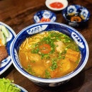 Bún Riêu - Crab Paste and Pork Vermicelli Soup [$9.50]