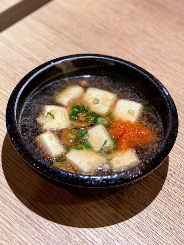 Agedashi Tofu [$7.80]