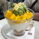 Mango-vanilla Yogurt