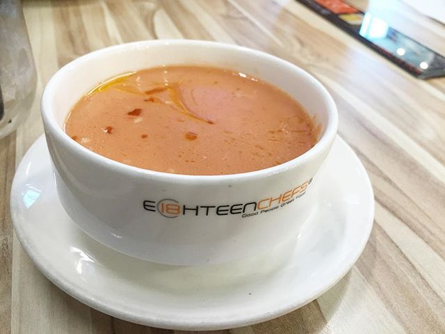 #tomatosoup - from #eighteenchefs .