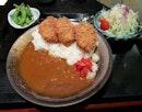 Rosu Katsu Curry - pork so crisp and curry so flavourful.