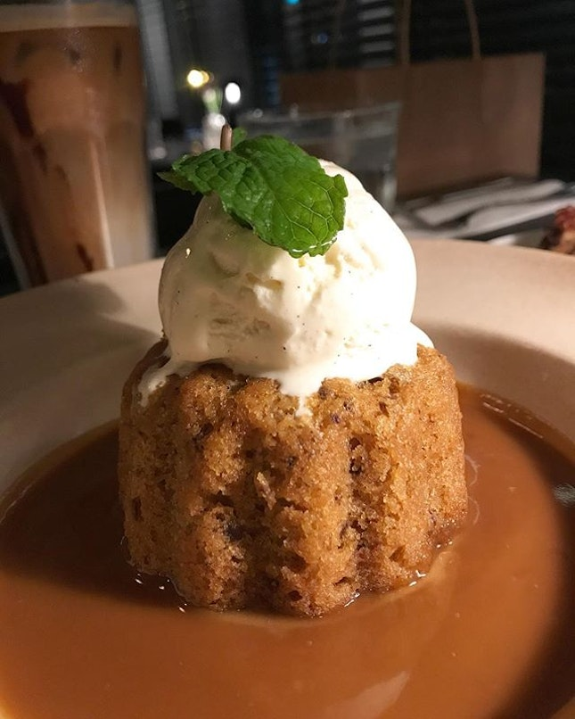 Sticky Date Pudding - such blissful indulgence - the ultimate treat for me that day because of the sinful goodness!