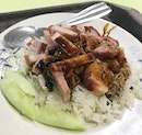 Absolutely delicious Char Siew Roast Pork rice at a wallet-friendly price!