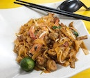 Penang Fried Kway Tiao from Penang Kitchen - lacking some wok hei flavour and the colour felt too strange.