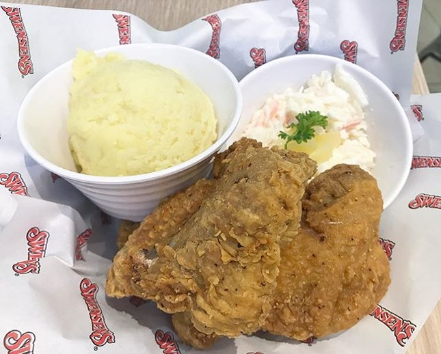 Fried Chicken - so juicy, tender, and the skin so crispy!