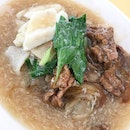 The famous Wa Dan Hor Fun from Ghim Moh Hawker Centre.