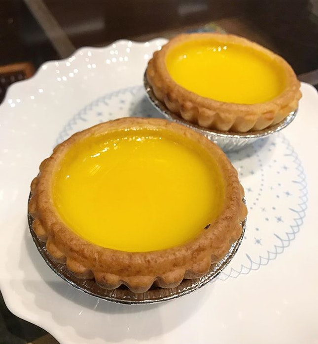Tai Cheong egg tarts forever ♥️ .