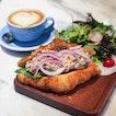 Spicy Tuna Croissant Sandwich
