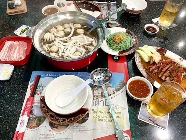 In every Thailand trip of ours, we need to have MK Suki steamboat!