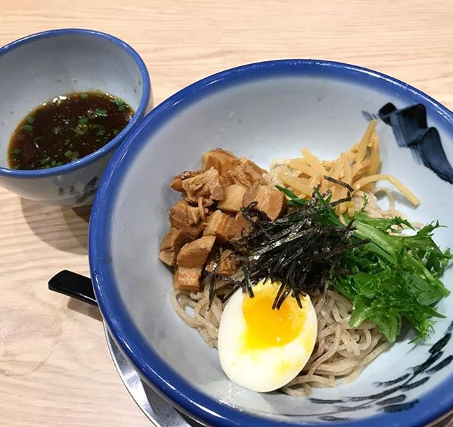 Afuri also has the tsukemen option ($15.90++), where the soup broth is a thicker kind!