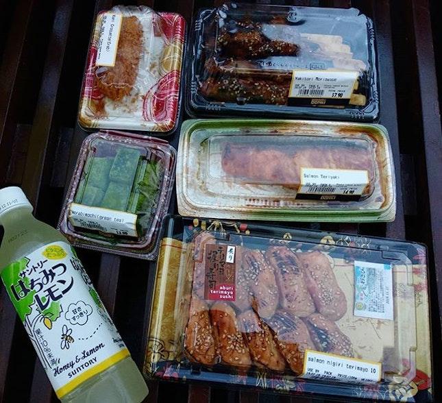 Don don donki food picnic party!