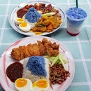 Finally headed here to try their blue pea nasi lemak!