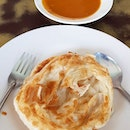 Back to eat Mr and Mrs Morgan super crispy roti prata a second time while on leave!