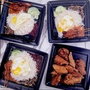 Craving for the Satay Nasi Lemak Set that now comes with 3 tender satays drenched in their secret recipe peanut sauce.
