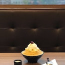 Cheesecake Bingsu at Nunsongyee 눈송이 Korean Dessert Cafe (Midtown)