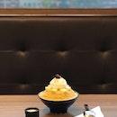 Cheesecake Bingsu at Nunsongyee 눈송이 Korean Dessert Cafe (Midtown)