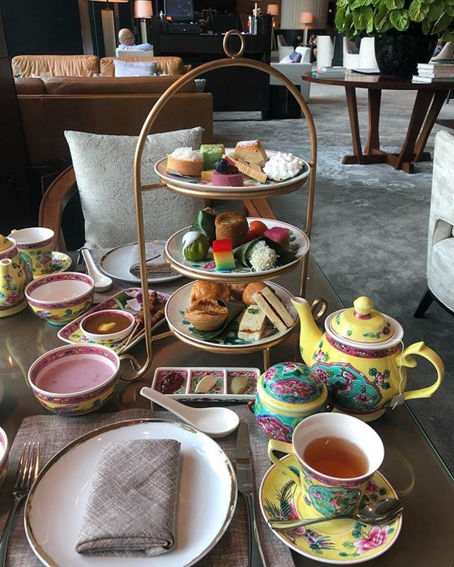 Missing this high tea spread.