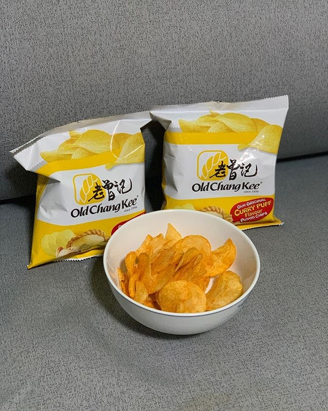 Curry puff potato chips!