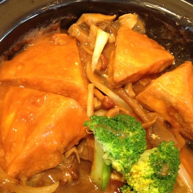 Tofu Mushroom
