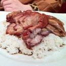 叉烧, 烧鸭饭, large portion of roasted goodness. #food #london #uk #travel #october #2012
