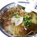 Beef Noodles at Shi Xiang Ge!