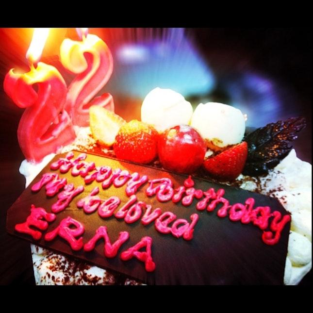 My 22th Birthday Cake