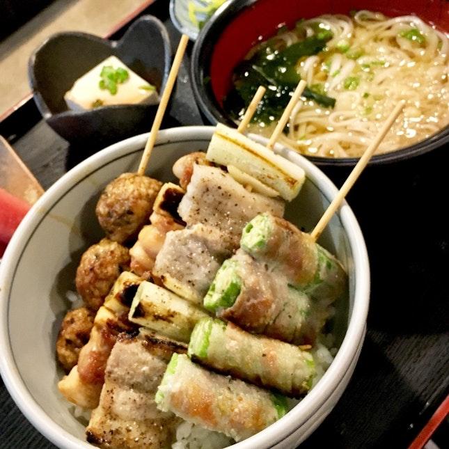 Yakitori Lunch!