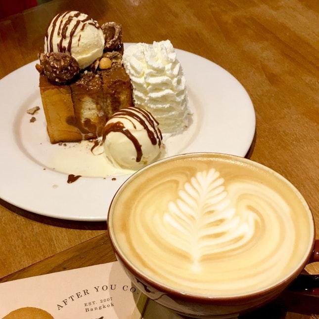 Ferrero Shibuya Honey Toast