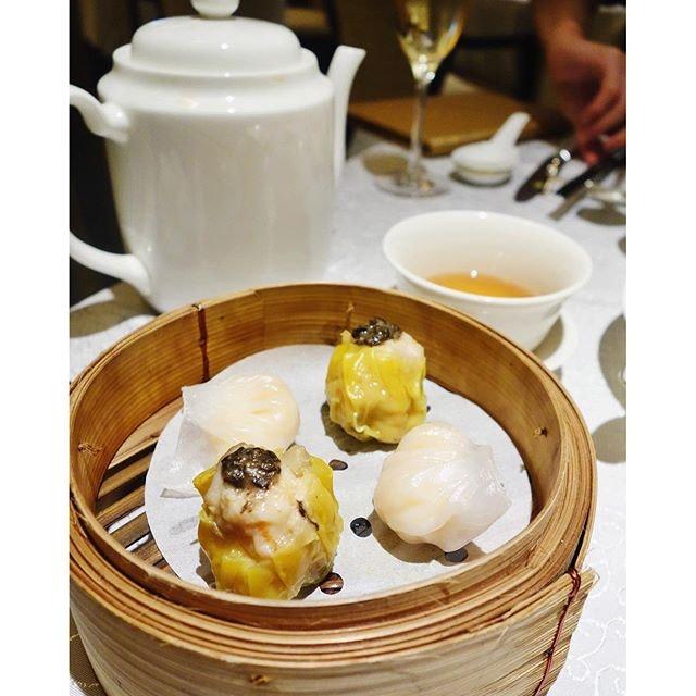 Feasting on @stregissg Yan Ting weekend Dimsum brunch.