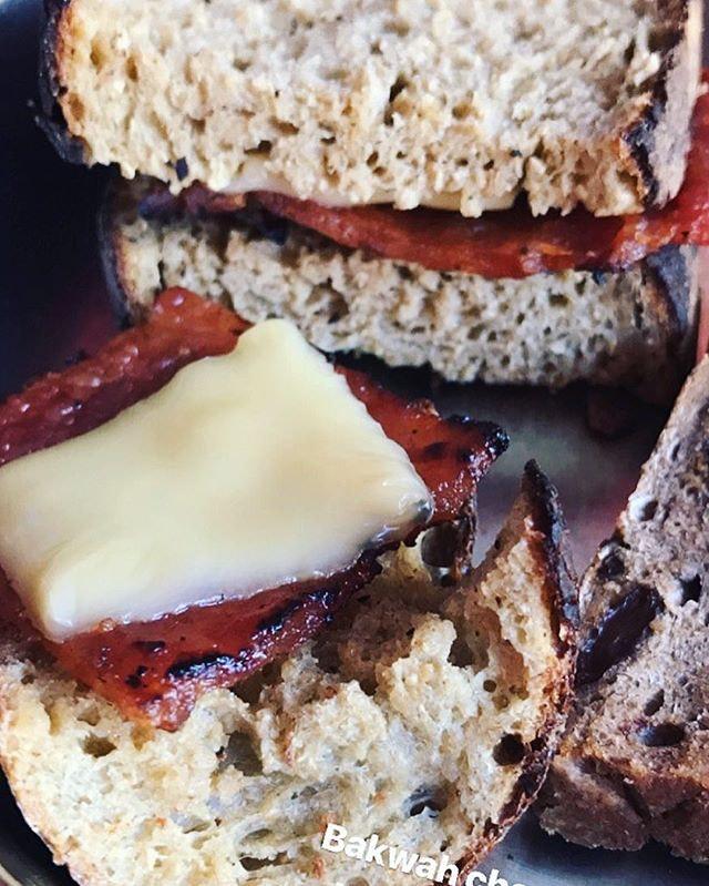 Bak Kwa Cheese toast ftw!