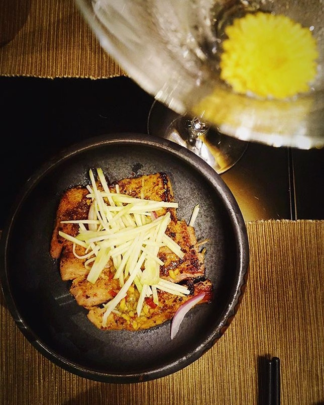 New Post- Eating and drinking well @sixsensessingapore  @yellowpotsingapore.