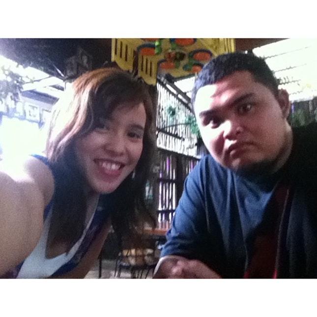 Breakfast with @kathy08salonga 🍛🍝 @pandeamerikana #breakfast #wife