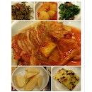 Korean Side Dishes from Cho Won Garden at Tanjong Pagar.