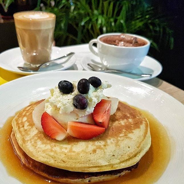 Pancakes from @kithsingapore.