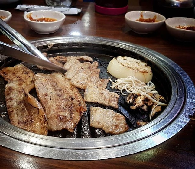Throwback to our Korean BBQ at @hyang_to_gol.