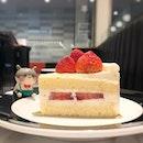 Sweet and fluffy strawberry shortcake, perfectly paired with a black coffee @ Henri Charpentier #poomsandpoms #foodies #sgfood #sgfoodies #sgeats #sgfoodporn #singaporefood #sgfoodtrend #eatmoresg #eatoutsg #foodinsing #yummyinmytummy #fatdieme #sgdessert #dessert #dessertporn #sgcafe #sgcafefood #sgcafehopping #sgbrunch #stfoodtrending #8dayseat #burpple #strawberryshortcake #henricharpentier #tanjongpagarcentre #tanjongpagar