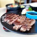 A surprisingly good and value for money steak 😋  #poomsandpoms #foodies #sgfood #sgfoodies #sgeats #sgfoodporn #singaporefood #sgfoodtrend #eatmoresg #eatoutsg #foodinsing #yummyinmytummy #fatdieme #stfoodtrending #8dayseat #burpple #steak #japanesefoodsg #orchardcentralsg #tsukijifishmarketrestaurantsg