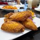 Shrimp paste chicken 🤤🤤 .